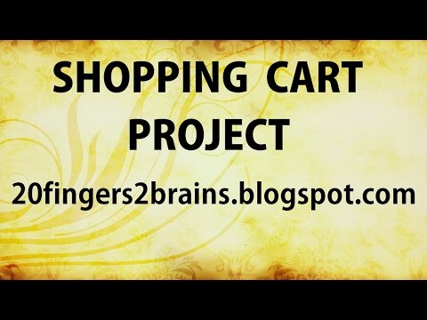 Part 1 ASP.NET C# Online shopping cart project website