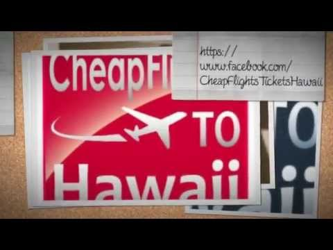 airline tickets to hawaii deals
