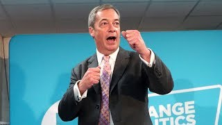 Watch again: Nigel Farage says Brexit Party will not stand down more candidates