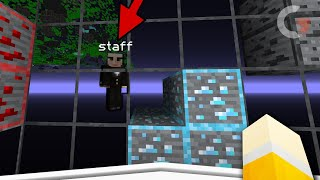 TROLL: I used a cursed xray pack on my server staff!