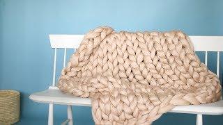 ArmKnit Throw Blanket  Martha Stewart