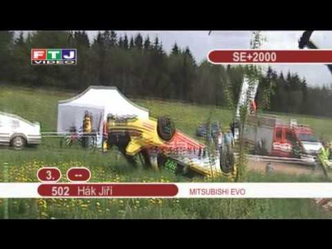 Mitsubishi Lancer EVO IX  Crash - Hronov 2010