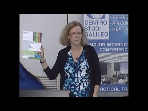 XVI EU Conference Video PART 1 on the Latest Technologies in Refrigeration and Air Conditioning