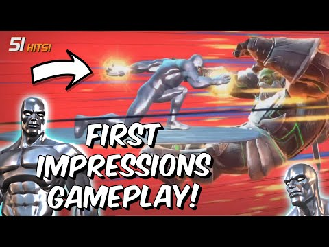 Silver Surfer Rank Up & First Impressions Gameplay! - Act 4 Maestro - Marvel Contest Of Champions