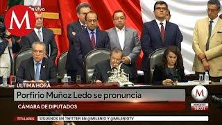 Porfirio Muñoz Ledo deja presidencia de la Cámara de Diputados