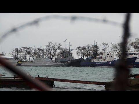Presidente da Ucrânia quer NATO no mar de Azov