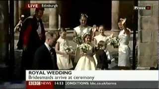 Royal Wedding: Zara Phillips 1/2