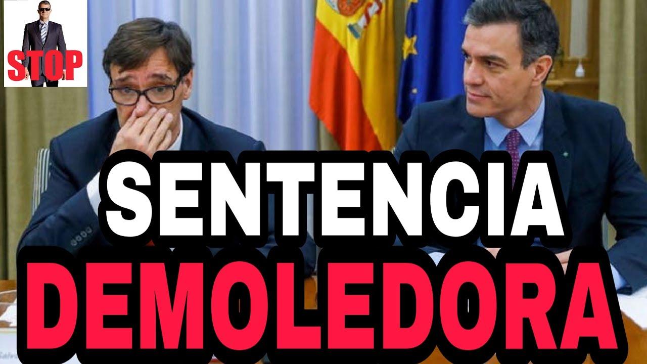 ¡NOTICIA DEMOLEDORA PARA EL GOBIERNO! DICTADA SENTENCIA QUE LO CONDENA POR DESPRECIO A LA VIDA.