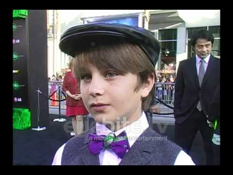 """Gattlin Griffith talks about his character at """"Green Lantern"""" Premiere"""