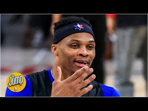 Russell Westbrook is averaging a ridiculous amount of points in the paint since Jan. 1 | The Jump