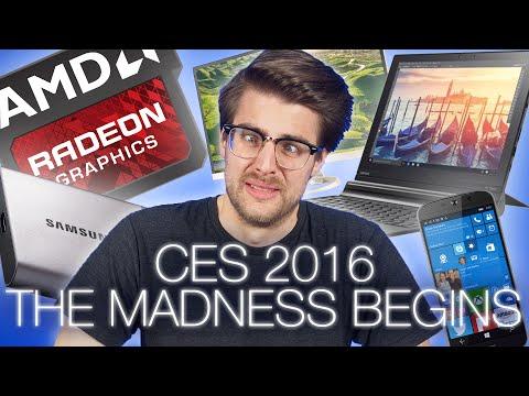 #CES2016 Day 0 Roundup - AMD's Polaris GPU, Acer, Lenovo, Samsung News