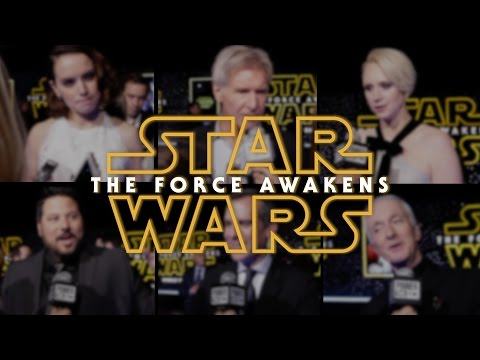 Star Wars: The Force Awakens World Premiere with Harrison Ford and Daisy Ridley