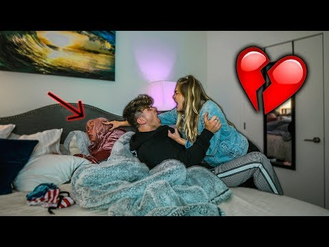 CAUGHT CHEATING IN MY GIRLFRIEND'S BED!! *PRANK*