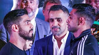 Amir Khan vs Billy Dib weigh-in feat LENNOX LEWIS, CHUCK LIDDELL | Jeddah, Saudi Arabia boxing