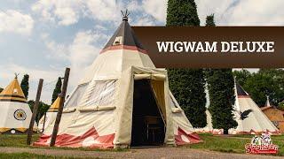 Attractie- & Vakantiepark Slagharen - Wigwam Deluxe