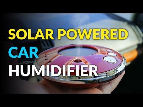 Solar Powered Car Humidifier
