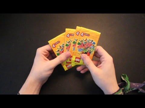 Sainsbury's Lego Create the World Card Packs Opening