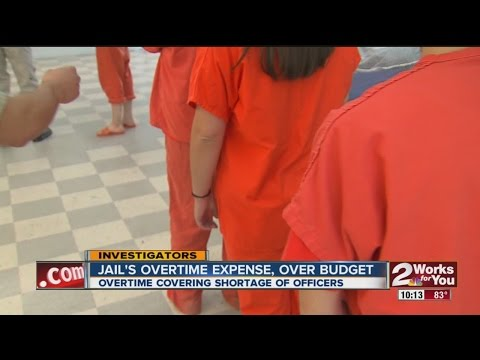 Tulsa County Jail Overtime Is Over Budget