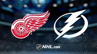 Detroit Red Wings vs Tampa Bay Lightning – Oct.18, 2018 | Game Highlights | NHL 18/19 | Обзор матча