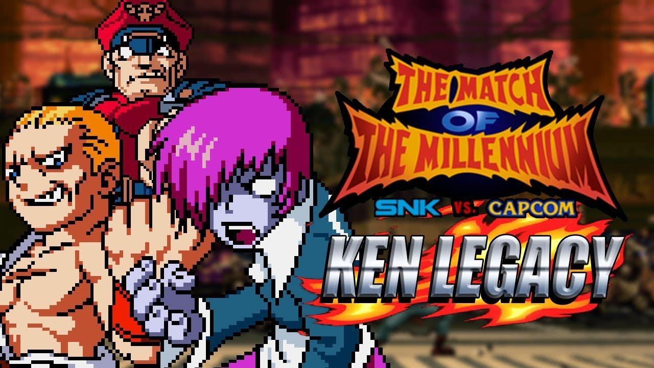 INSANE BOSS RUSH - Ken Legacy SNK vs Capcom Match of the Millennium
