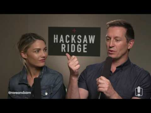 Hugo Weaving & Rachael Griffiths Chat Hacksaw Ridge