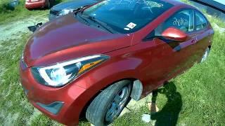 Разборка Hyundai Elantra