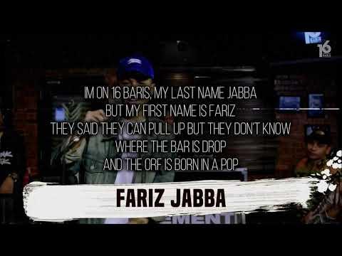 FARIZ JABBA | 16BARIS | LIRIK VIDEO