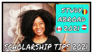 How-to get Scholarships in 2020 to Study Abroad - Small Youtuber