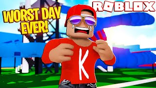 I Got Bullied At Roblox Waterpark! (Roblox Bully Story)