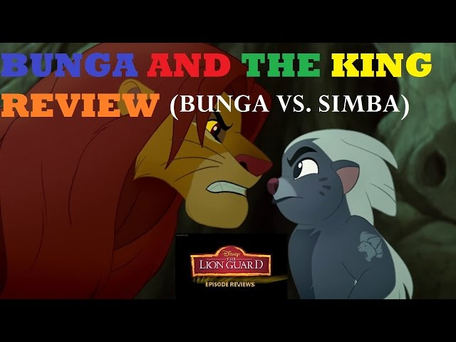 BUNGA AND THE KING (BUNGA VS. SIMBA) Review by Brandon The Bambi Man