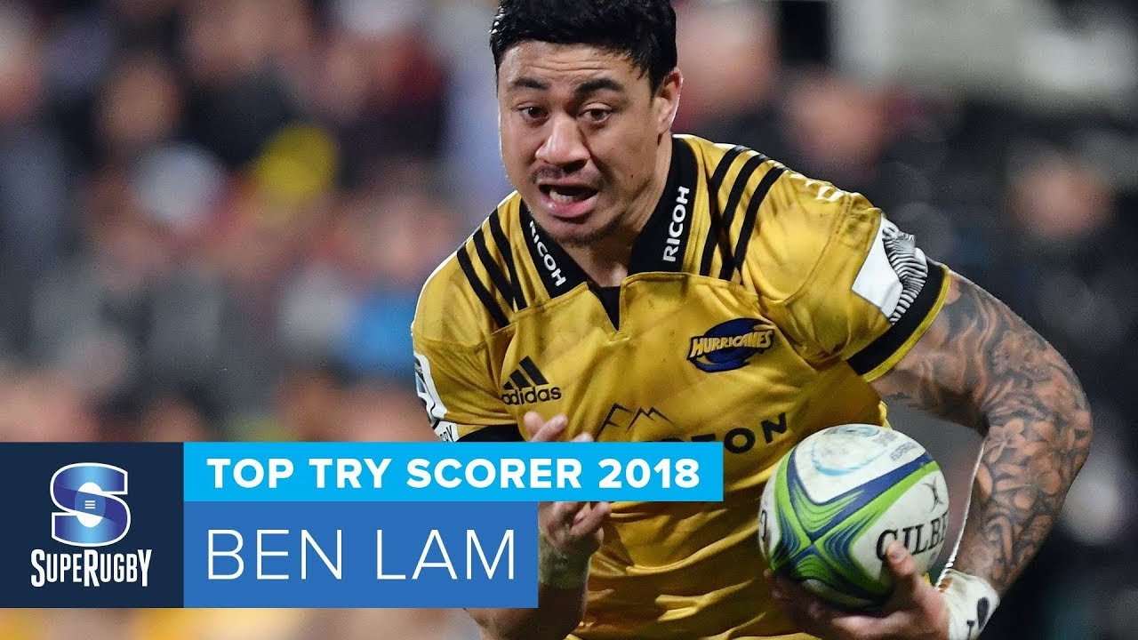 TOP TRY SCORER: 2018 Super Rugby