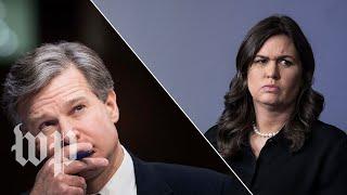 Wray vs. the White House on Porter's background check
