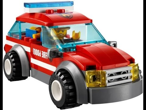 lego city la voiture du chef des pompiers lego jouets pour enfants youtube. Black Bedroom Furniture Sets. Home Design Ideas