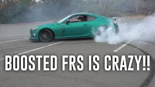 TRADING MY 240s for a BOOSTED FRS