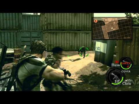 Resident Evil 5 - PS Move Motion Controls Preview