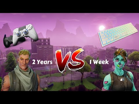 1 Week Progression Controller To Keyboard & Mouse (PS4 To PC) Fortnite Battle Royale