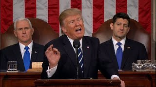 From youtube.com: Trump's State of the Union address {MID-240755}