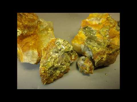 Pyrite or Chalcopyrite?  Chemical Analysis Rock and Mineral Identification