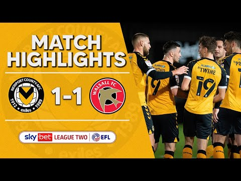 Newport Walsall Goals And Highlights