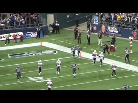 Leon Washington Two Kick Returns for TD Seattle Seahawks vs San Diego Chargers 9-26-2010