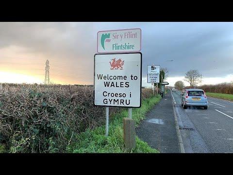 O Brexit na fronteira com o País de Gales