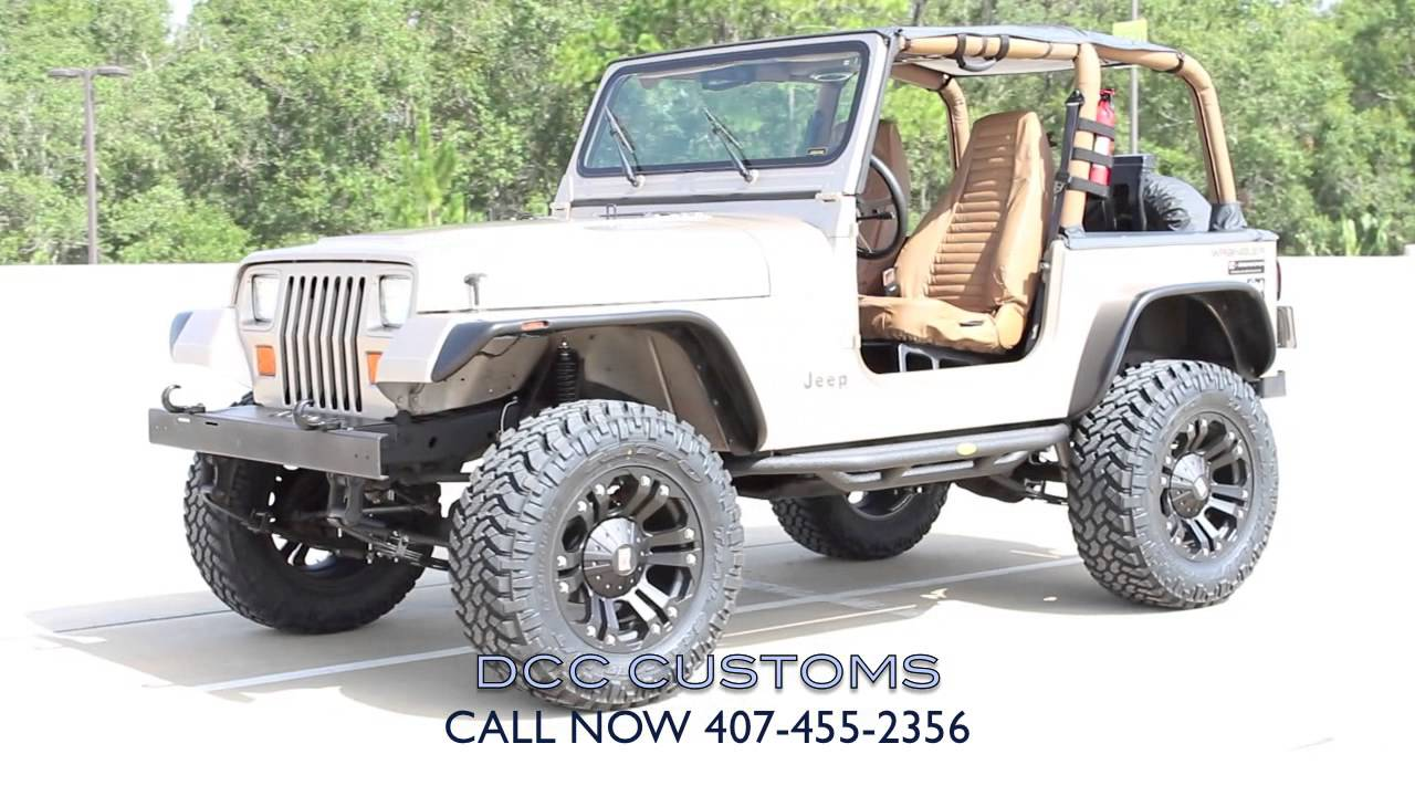 "Jeep Wrangler Yj Lift Kit 94' YJ WRANGLER 4"" ON 33- RUBICON EXPRESS LIFT- DCC JEEPS ..."
