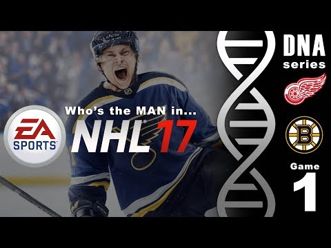 """""""Who's the man in... NHL17""""  Best of 7 - Game 1"""