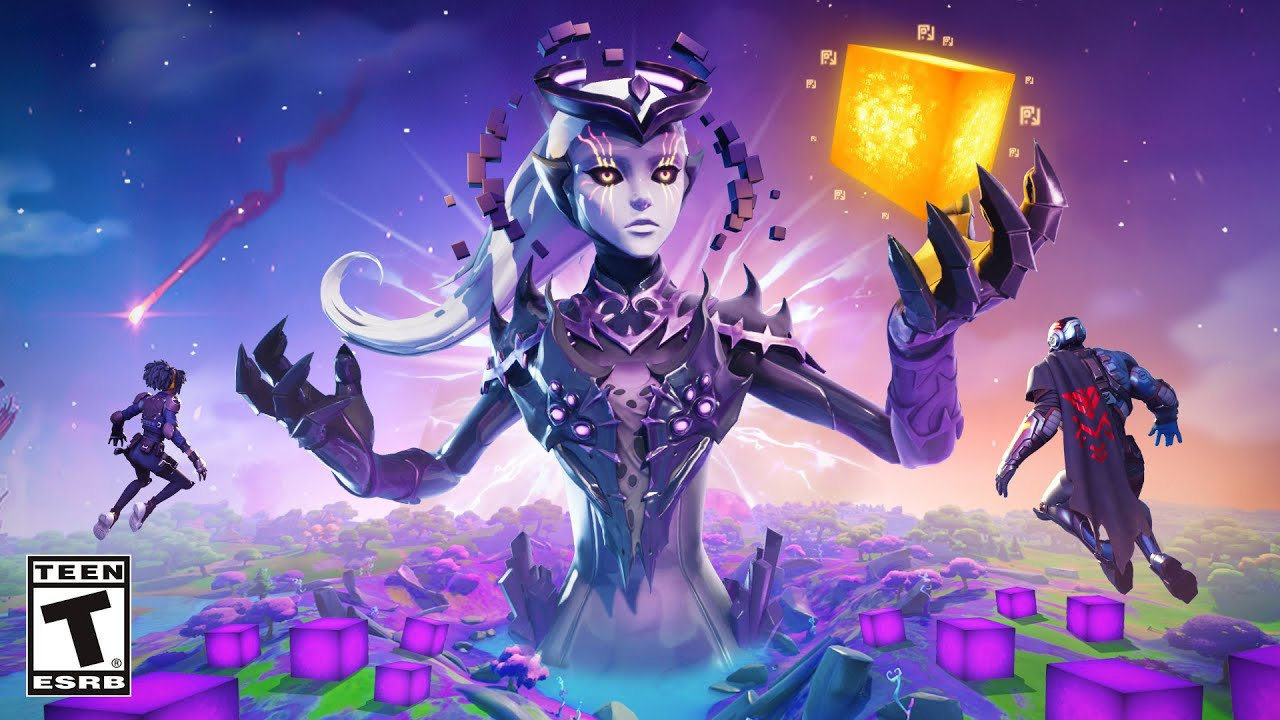 Download Fortnite STORYLINE - The QUEEN of CUBES EVENT! (30 DAYS)