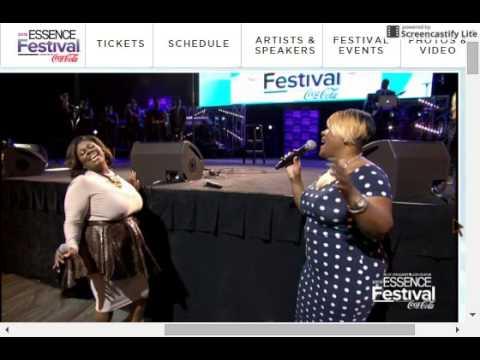 Anita Wilson mic toss Kim Burrell tribute.webm