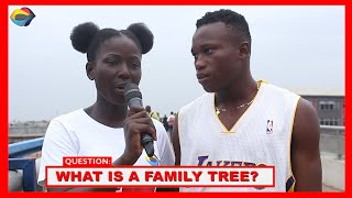 What is a Family Tree |Street Quiz|Funny Videos|Funny African Videos|AfricanComedy|African Comedy|