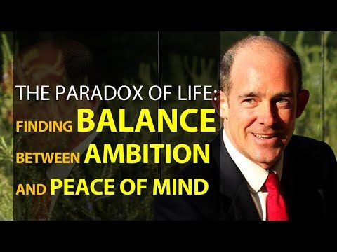 Finding Balance between Ambition and Peace of Mind, External vs Internal Success