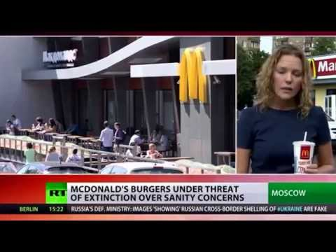 Russia Takes McDonalds to Court