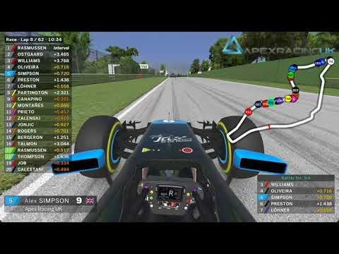 iRacing Road Pro Series - Alex Simpson - Onboard - Imola
