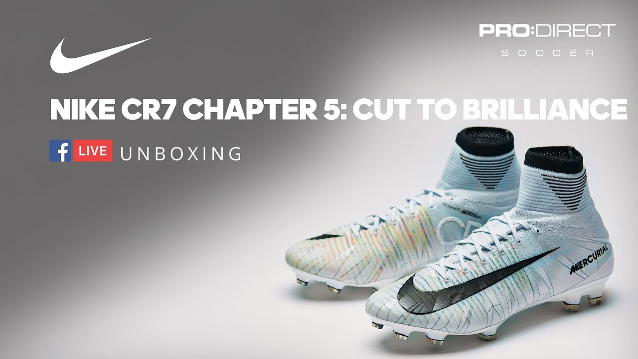 meet f5167 c134b Unboxing Nike CR7 Chapter 5 Cut to Brilliance
